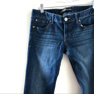 Express Barely Boot 6L Jeans